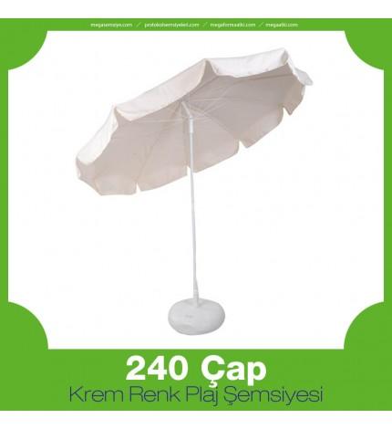 240 Çap Krem Şemsiye
