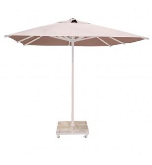 250x250 Beyaz Alüminyum Havuz Şemsiyesi