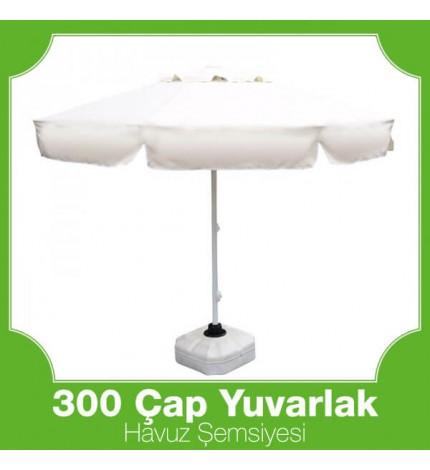 300 Çap Yuvarlak Mega Havuz Şemsiyesi