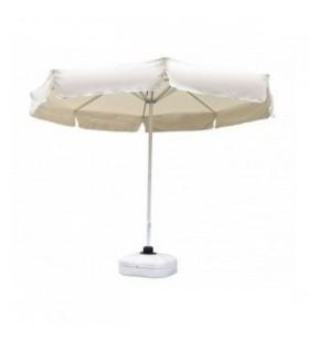 300 Çap Krem İpli Makaralı Şemsiye