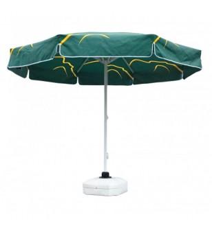 300 Çap Yeşil İpli Makaralı Şemsiye