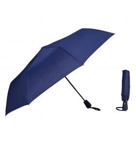 Lacivert Renk Otomatik Katlanır Yağmur Şemsiyesi