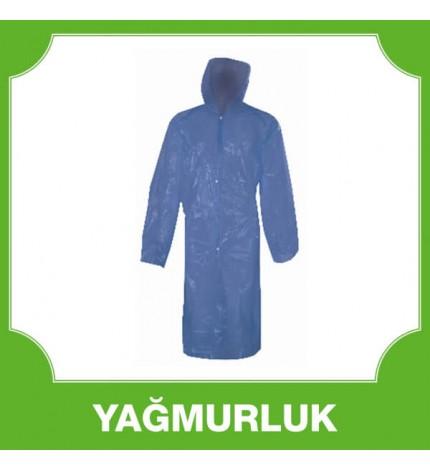 Kullan At Yağmurluk Mavi
