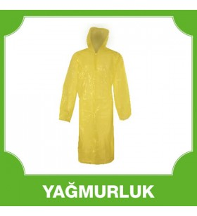 Kullan At Yağmurluk Sarı