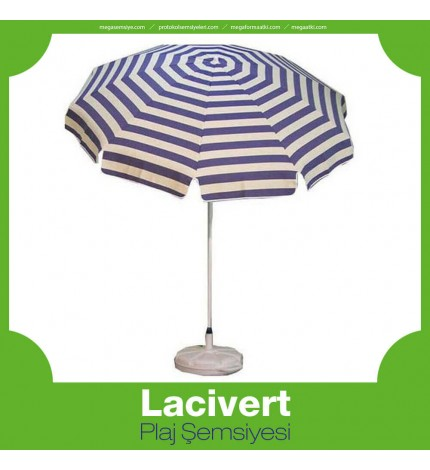 Lacivert Plaj Şemsiye