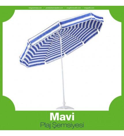 Mavi Plaj Şemsiyesi