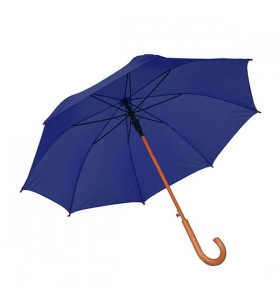 Ahşap Baston Saplı Lacivert Promosyon Şemsiye