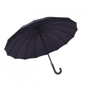 Baston Saplı Siyah Promosyon Şemsiye