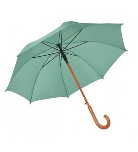 Ahşap Baston Saplı Yeşil Promosyon Şemsiye